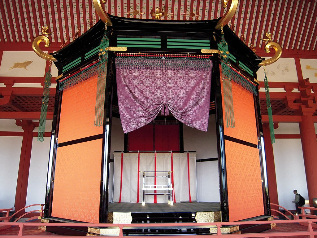 Imperial throne of Heijo palace
