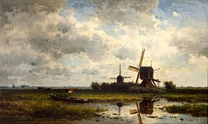 Willem Roelofs - In 't Gein, Willem Roelofs, ca. 1860. Teylers Museum Haarlem, the Netherlands