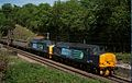 In 2011, deep in the Welwyn woods, classic English Electric 1960s traction passes through. - panoramio.jpg