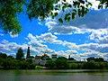 In God we trust ^ Новодевичий монастырь. Moscow, Russia. - panoramio - Oleg Yu.Novikov (2).jpg