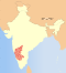 India Karnataka locator map.svg