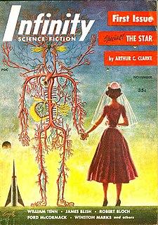 <i>Infinity Science Fiction</i> 1950s US science fiction magazine