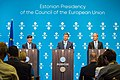 Informal meeting of economic and financial affairs ministers (ECOFIN). Press conference (37115995141).jpg