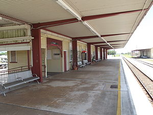 Ingham Railway Station, Queensland, Jan 2013.JPG