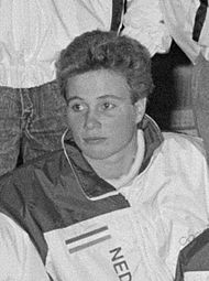 Ingrid Haringa in 1988