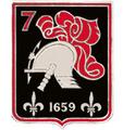 Insigne régimentaire du 7e régiment de cuirassiers,.png