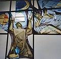 Interieur, detail van raam met gebrandschilderd glas - Ede - 20338158 - RCE.jpg