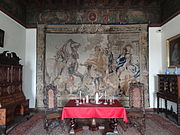 Interior of the Bishops Palace in Kielce 01197.JPG