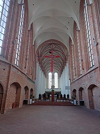 Interior of the St. John the Evangelist church in Szczecin 2.jpg