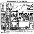Interrumpida la circulación, La Voz, 6 de mayo de 1921.jpg