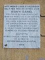 Irányi Dániel emléktábla, Dózsa György utca 14, 2017 Nyíregyháza.jpg