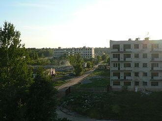 Irbene - Abandoned houses in Irbene in 2014