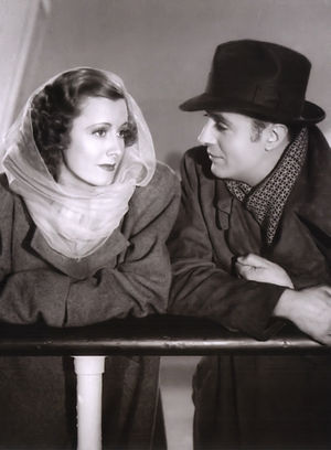 English: Irene Dunne & Charles Boyer in Love A...