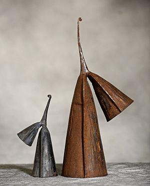 Bell pattern - Ghanaian iron gankoqui bells.