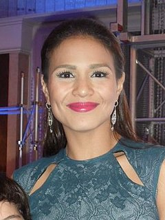 Iza Calzado Filipino actress, television host, dancer, and model