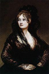 Retrato de Isabel Porcel.