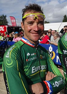 Thomas Voeckler French road racing cyclist