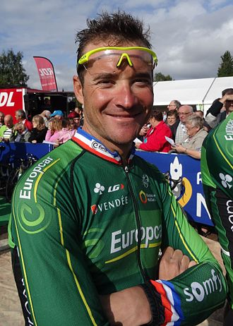 Thomas Voeckler - Voeckler at the 2014 Grand Prix d'Isbergues