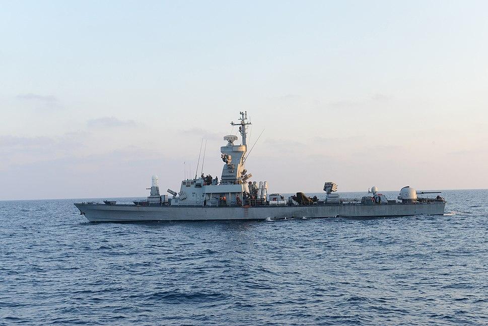 Israel Navy Strike Gaza from the Sea (14738072664)