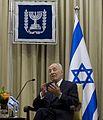Israeli President Shimon Peres in Jerusalem--April 22 2013b.jpg