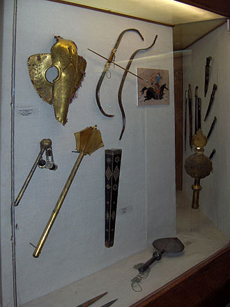 Ottoman weapons - Bows and arrows and maces