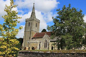 Iwerne Minster - Image: Iwerne Minster parish church 2015