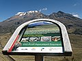 Iztaccihuatl with National Park sign.jpg
