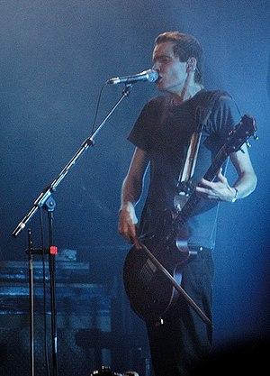 Jón Þór Birgisson, lead singer of Sigur Rós, a...