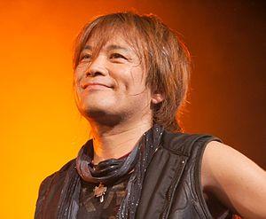 Hironobu Kageyama - Kageyama performing as part of JAM Project in Paris