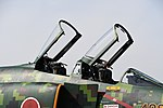 JASDF F-4EJ(87-8409) canopy right front view at Komaki Air Base March 3, 2018.jpg