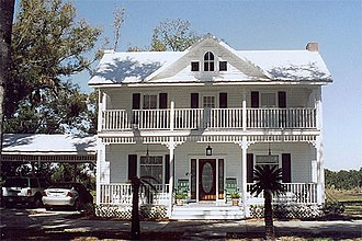 National Register of Historic Places listings in DeSoto County, Florida - Image: JOHNSON SMITH HOUSE