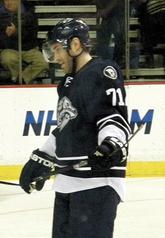 Jean-Pierre Dumont - Dumont playing for the Predators in 2010