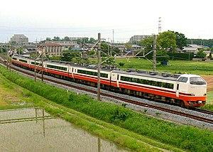 Kinugawa (train) - Image: JRE 485 G58
