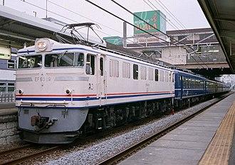 JNR Class EF60 - Image: JRE EF60 19 Yasuragi