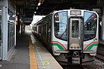 JRE E721 series at Natori Station 2016-10-09 (30037154823).jpg