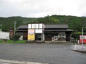 Kyūragi Station - Station building