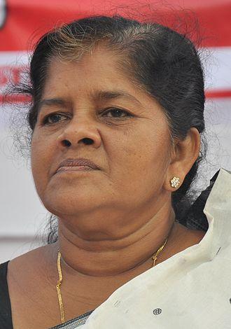 J. Mercykutty Amma - Minister of Fisheries