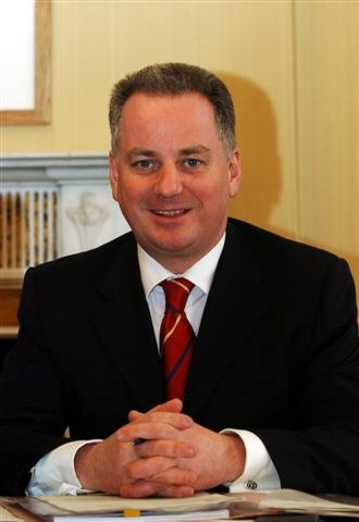 Cabinet Secretary for Finance and Constitution - Image: Jack Mc Connell