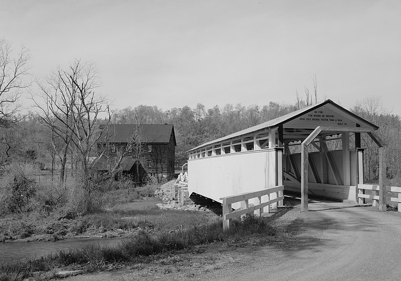 File:Jackson's Mill Covered Bridge near Bedford.jpg