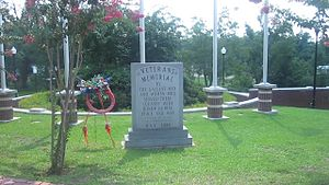 Jackson Parish, Louisiana - Image: Jackson Parish Veterans Memorial MVI 2699