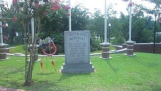 Jackson Parish, Louisiana - Image: Jackson Parish Veterans Memorial MVI 2699