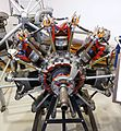 Jacobs R-755 7-cylinder air cooled radial engine - Hiller Aviation Museum - San Carlos, California - DSC03067.jpg