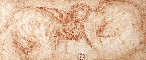 Jacopo Pontormo - Two Nudes Compared - WGA18129