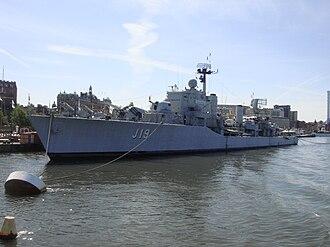 HSwMS Småland (J19) - Image: Jagaren Småland