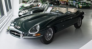 Jaguar E-Type car model