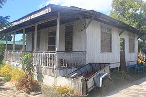 Jaime Fabregas - Fabregas ancestral house located at San Nicolas, Iriga City