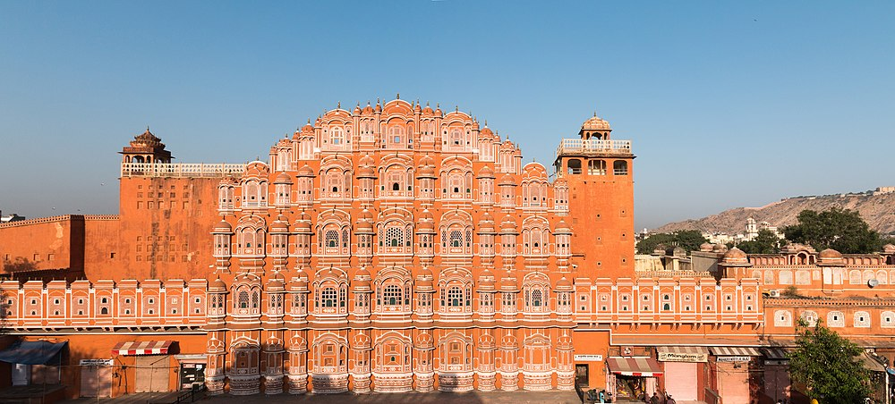 The Hawa Mahal was constructed by Pratap Singh.