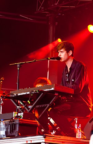 English: James Blake performing at the Primave...