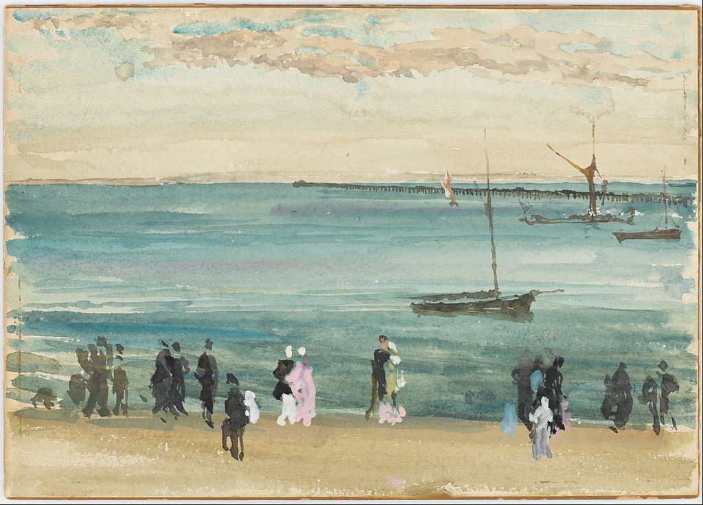 James McNeill Whistler - Southend Pier