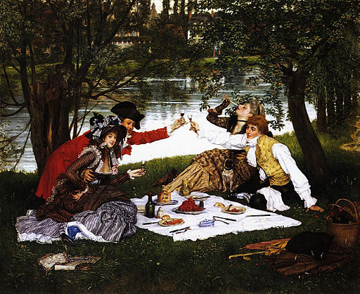James Tissot - La Partie carrée